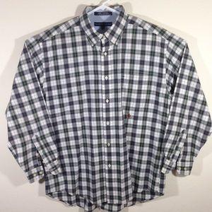 Tommy Hilfiger Long Sleeve Plaid Shirt